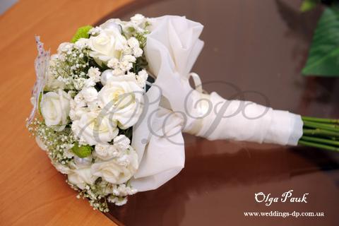 Букет невесты сделать своими руками из живых цветов